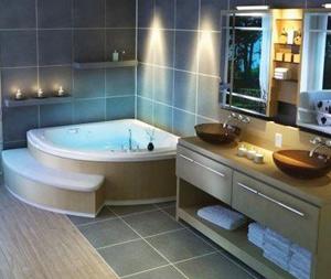 Современный ремонт квартир не обходится без установки ванны